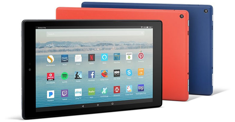 Fire HD 10 Tablet with Alexa Hands-Free - Best 10 Inch Tablets