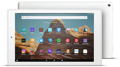 Fire HD 10 - Best Tablets Under 200 Dollars